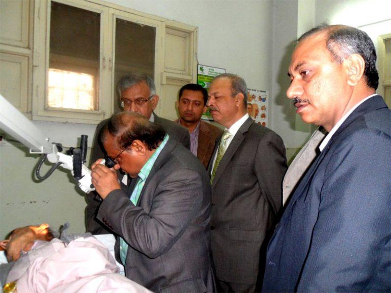 Microscope Donation – Jinnah Hospital/Sindh Medical College-Karachi